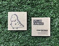SG - Business Card Design / Dino Illustration