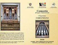 Pieghevole Concerto Organo Rinascimentale