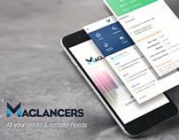 Maglancers Mobile App