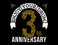 enjoy your drum 3rd anniversary