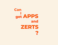 Apps and Zerts: Parks and Rec Kinetic Type Video