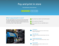 Print In Store - myHermes Design