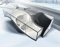 GYROID HOUSE. 3D printed house.