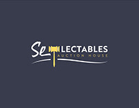 Se-Lectables Auction House Logo & App Icon Design