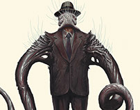 B Horror Monster