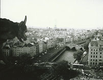 Paris, a tale in black and white.