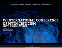 """Website of the Conference """"Myth and Emotions"""""""
