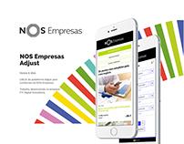 NOS Empresas   Mobile & Web