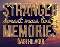 Stranger - 3D artwork