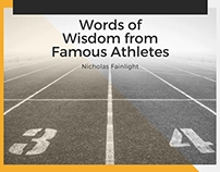 Words of Wisdom from Famous Athletes
