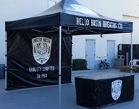 Logo Design: Helio Basin Brewing Co.