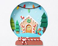 Christmas | Paper art