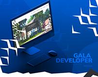 Gala Developer Real Estate luxury responsive web design