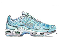 Sketches Nike Air Max Plus