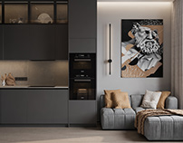 """Apartment in Moscow ZHK """"Capital Towers"""""""