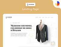 Atelier Portofino Landing Page