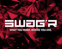 SWAG'R App   Brand, UI + Website