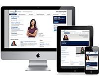 Join Ameriprise Responsive Website