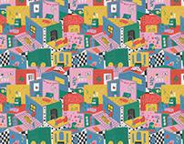 lo que no se ve | pattern & illustration