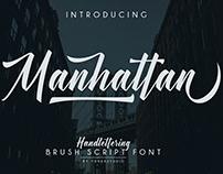 Manhattan Font (Free Download)