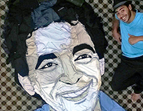 My Art with Clothes - M - Mounir