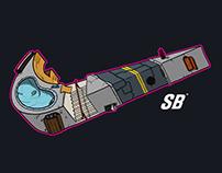Nike SB Skatepark swoosh