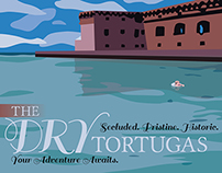 Travel Poster: The Dry Tortugas
