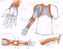 LP SUPPORT-Compression Garment2.0 Sketch/Product Design