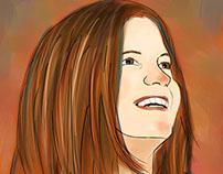 Self-Portrait with SAI Paint Tool