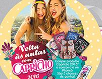 CAPRICHO | PDV VOLTA ÀS AULAS 2016