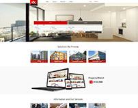 Real estate solution Singapore, Malaysia, Panama UI/UX