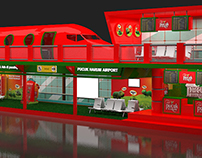 """Airport Booth Concept """"Teh Pucuk Harum"""""""