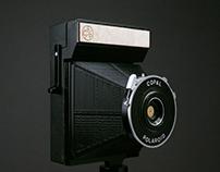 Polaroid as a Pinhole
