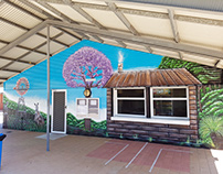Settlers Primary School Canteen Mural