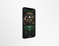 Spotify Mobile Interface Redesign