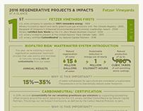 Fetzer Vineyards Sustainability Infographic