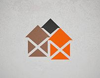 Visual identity Van Huizen Totaalbouw