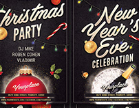 Christmas / New Year Flyer Template
