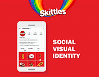 Skittles | Social Visual Identity [WEARESOCIAL]