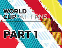 #World Cup Patterns 2018 | Part 1