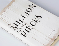 A Million Little Pieces Book Cover