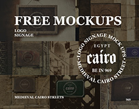 Free Mockups - Medieval Cairo