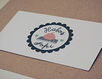 Habos Waffels Logo & Identity Design