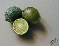 3D Drawing Limes