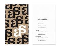 Ali Sandifer Brand Identity Design