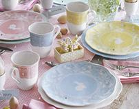 Easter Dessert Plates