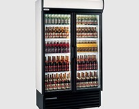 Staycold HD1140 Refrigerated Double Glass Door Merchand