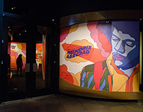 Hendrix Abroad Exhibit Design