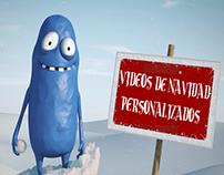 Vídeos de Navidad Personalizados
