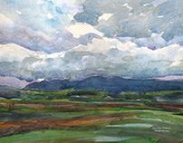 Scotland watercolors